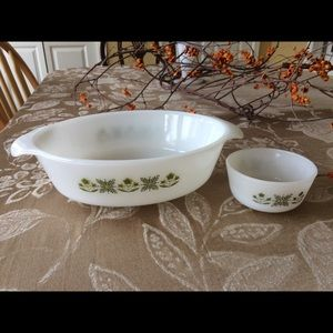 Vintage Anchor Hocking Fire King Dishes